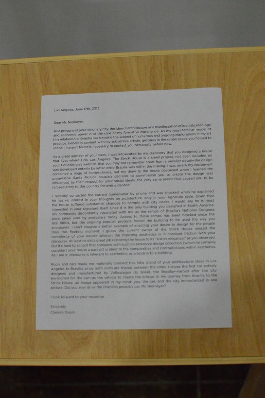 Tossin's letter to Neimeyer - 17 June 2013