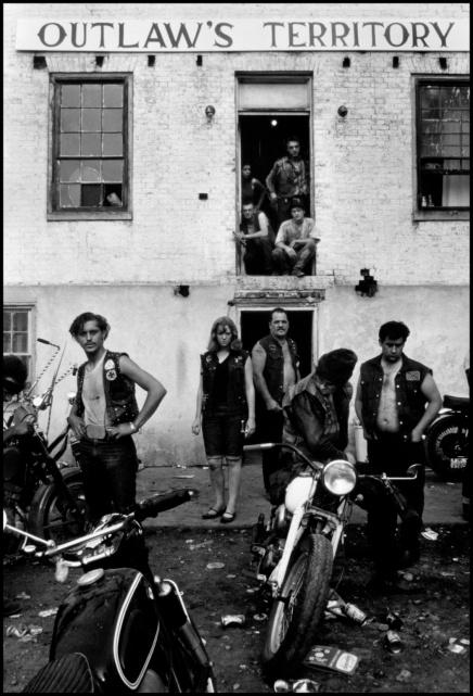 USA. Dayton, Ohio. 1965. Club house during the Columbus run.